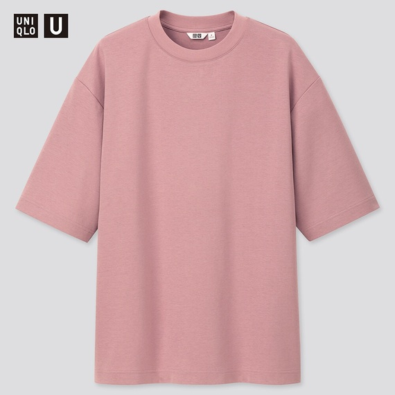 ユニクロユー,UNIQLO U,エアリズムコットンオーバーサイズTシャツ